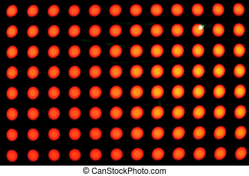 red neon - Background of red neon in a live music event...