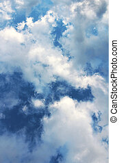 Dramatic Cloud Sky Vertical Photo - This vertical photo of a...