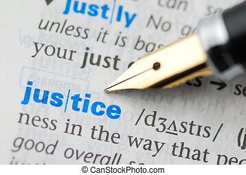 Justice - Dictionary Series
