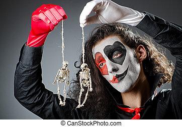 joker,  studio, masque, figure
