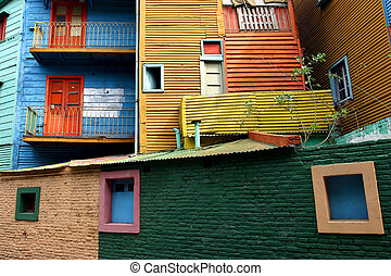 La boca in Buenos Aires - the first italian area of buenos...