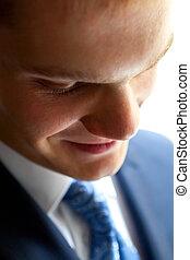 This is Closeup of businessman - This is Closeup of young...