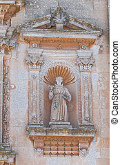 Church of Our Lady of the Grace. Soleto. Puglia. Italy.