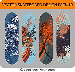 Skateboard design pack 19