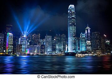 Hong Kong Lightshow - Stunning Light show in Hong Kong