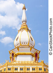 Pagoda in the temple of Thailand