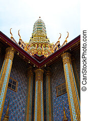 Temple of Wat Phra Kaew temple