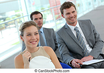 Group of business people in conference room
