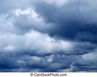 Stormy clouds       - Stormy clouds. Moody sky