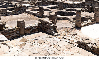 Remnants of civilization