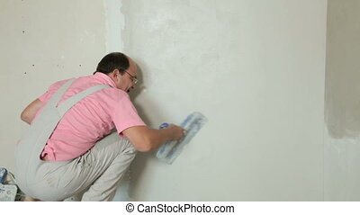 Home Improvement - Plastering a Dry