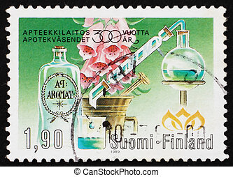 Postage stamp Finland 1989 Finnish Pharmacy