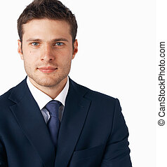 Young goodlooking businessman - Portrait of young...