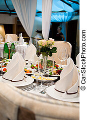 restaurant serving - photo of professional restaurant...