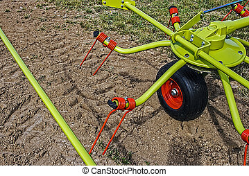 Agricultural equipment. Detail 8 - Equipment for...