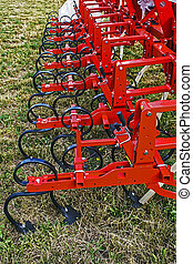 Agricultural equipment. Detail 9 - Equipment for...