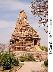 Khajuraho Temples, India - Khajuraho Hindu Temples in India,...