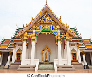chapel of temple in Bangkok