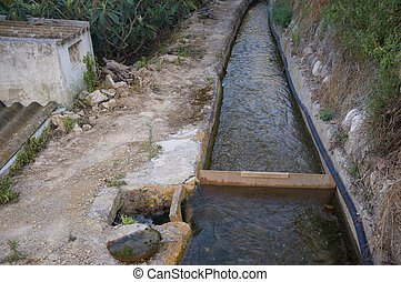 Traditional irrigation system