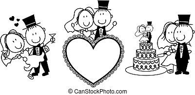 結婚式, 招待