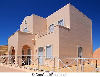 House, Oia, Santorini, Greece