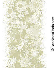 Elegant Christmas with snowflakes. EPS 8 - Elegant Christmas...