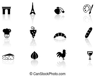 French culture icons