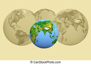 futurism image of earth - futurism image of earth