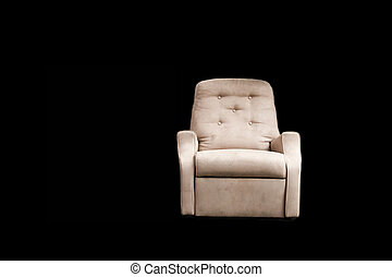 this is a bonafide Man Cave Armchair, used for drinking and...