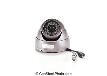Isolated video surveillance camera - Bronze isolated video...