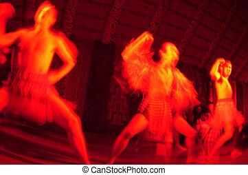 tradizionale, nuovo, Zelanda, maori, Haka, ballo, mostra
