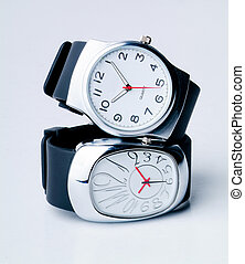watch isolated over a white background