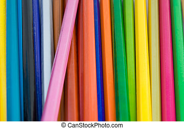 Background of pencils. Can be used as background