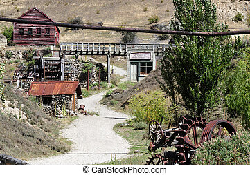 Old Gold Mining Town, New Zealand