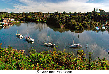 Kerikeri Inlet and Stone Store - Kerikeri Inlet in...