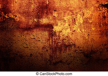 Grunge home background - Fragment of an abstract wall close...