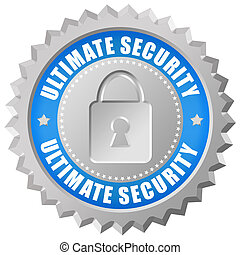 Ultimate security icon