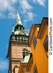 German Church in Stockholm; GPS information is in the file