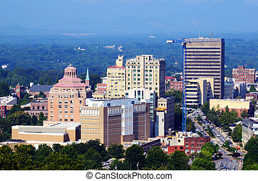 Asheville Skyline - Downtown Asheville, North Carolina's