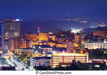 Asheville Skyline - Asheville, North Carolina skyline...