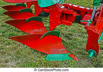 Agricultural equipment. Detail 12 - Equipment for...