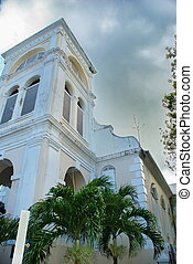 Chruch Steeple St. Croix, USVI - This old church steeple...