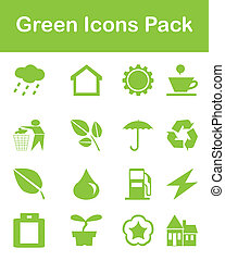 Green Icons Pack