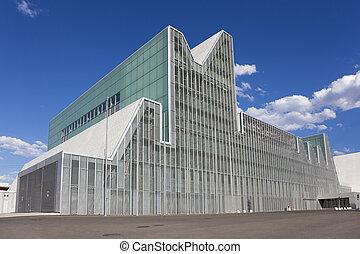 Congress palace,  Expo Aragon, Zaragoza, Aragon, Spain