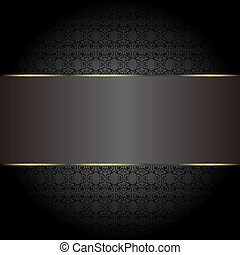 abstract golden ornate vector backgrounds. seamless pattern