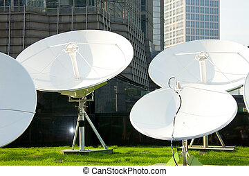 parabolic satellite dish receivers - picture of parabolic...