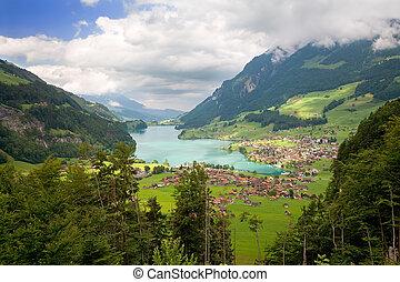 cantón, de, fribourg, suiza