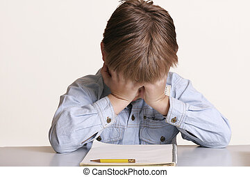 Can't do it! - Frustrated with school or child with learning...