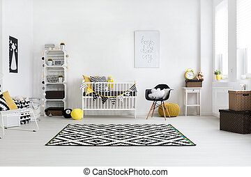 Can't wait to have you here, little one - Spacious baby room...