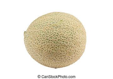 Cantaloupe melon - Sweet cantaloupe melon isolated on the...